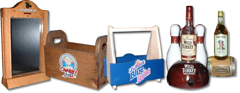 Promotional Wood Products - Point of Sale Items and Displays